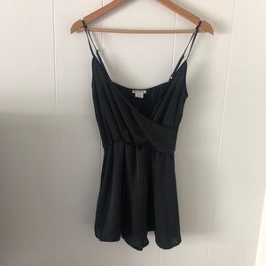 S Urban Outfitters Silky Skort Romper